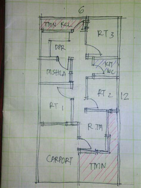 gambar desain rumah minimalis  lantai lebar  meter