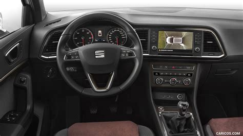 seat ateca interior 2017 seat ateca interior cockpit hd wallpaper 100