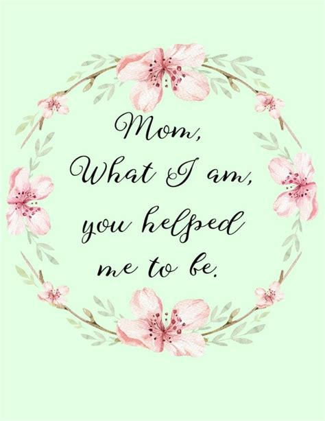 mothers day quotes  printable artwork glue sticks