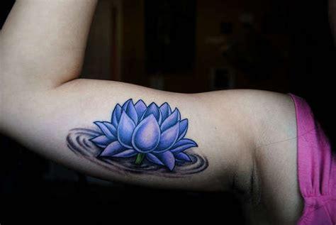 graceful lotus tattoos designs