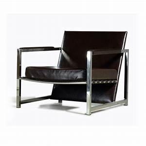 fauteuil de bureau en cuir veritable noir With fauteuil design cuir