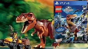 Lego Jurassic World - Video-Game Teaser Footage & Big-Fig ...