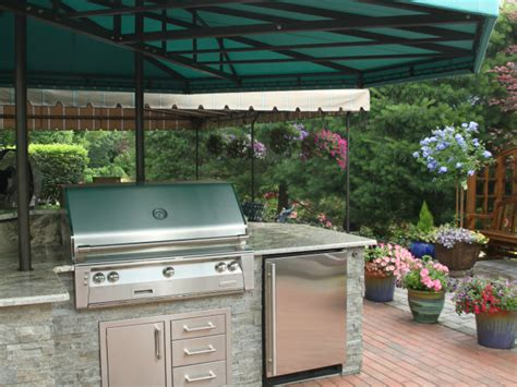 outdoor kitchen canopy cover kreiders canvas service