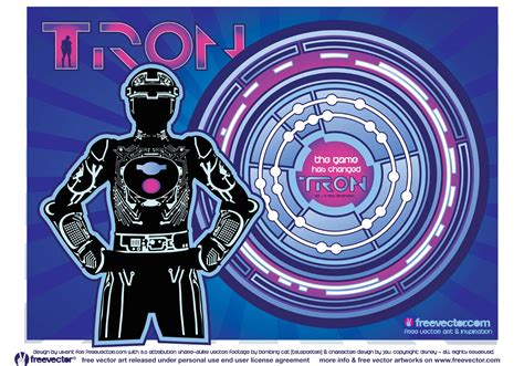 tron graphics   vector art stock graphics