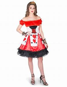 Charming Queen of Hearts costume for women: Adults ...