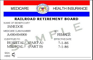 medicare phone number for members what do railroad medicare id numbers look like