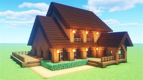minecraft tutorial     spruce wood house