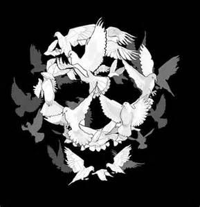 Skull Optical Illusion Picture