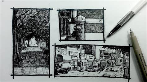 urban sketching series pt   ways  frame  scene youtube