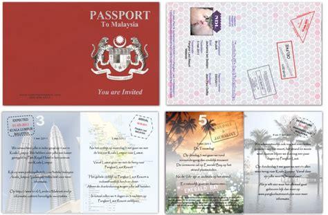 passport  save  date passport custom passport