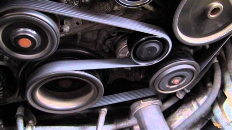 om serpentine belt tensioner youtube