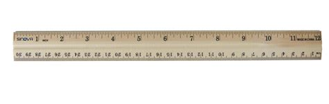ruler inches actual size