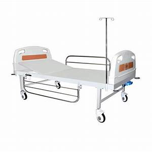 Welcraft Healthcare Hospital Bed  Single Function  Manual