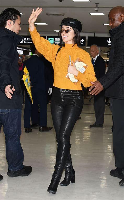 Camila Cabello Arrives Airport Tokyo