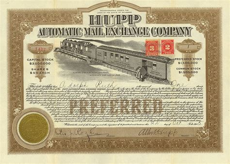 Need a certificate of insurance (coi)? Denver Stock Exchange Railroad Stock and Bond Certificates - good Christmas present for James ...