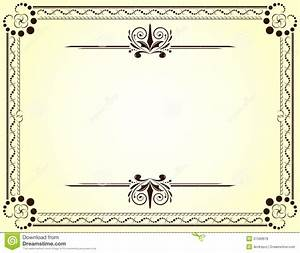 Blank Vector Printable Blank Certificates | Certificate ...