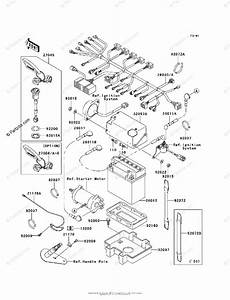 Kawasaki Jet Ski 2001 Oem Parts Diagram For Electrical