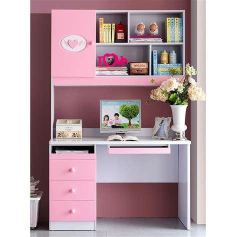 bedroom set with matching desk kids suite matching pink rectangular desk computer