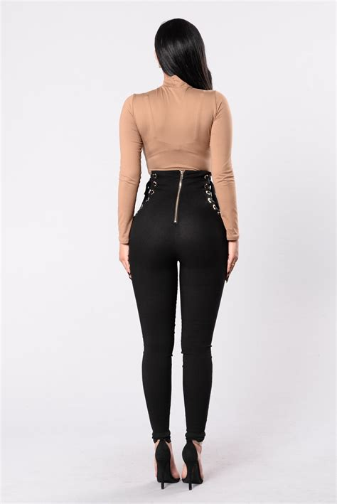 pull  real fast pants black