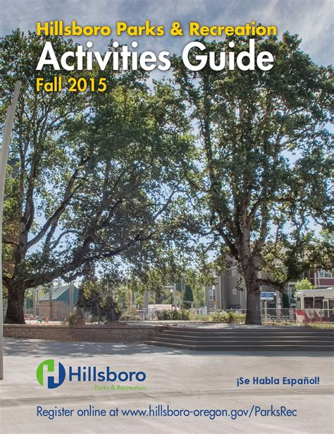 hillsboro parks amp recreation activities guide fall 2015 by 884 | page 1