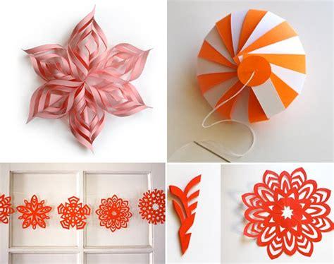 deco noel en papier decoration de noel en papier