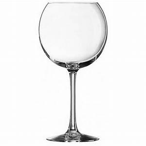 Verre à Vin Géant : verre vin ballon 58cl jaug e 20cl lot de 6 cabernet ~ Teatrodelosmanantiales.com Idées de Décoration