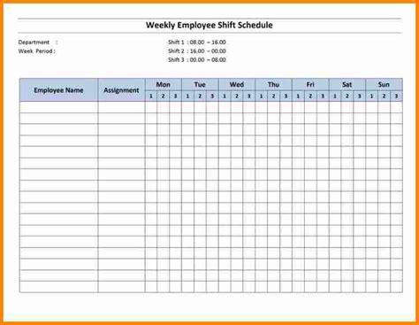 monthly employee schedule template excel shatterlioninfo