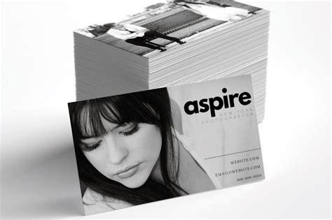 business card templates  photographers
