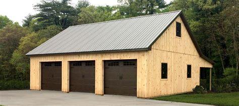 Custom Post Frame Garages - Conestoga Buildings
