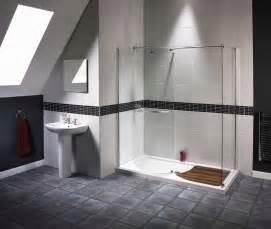 contemporary bathroom tile ideas trend homes walk in shower modern design