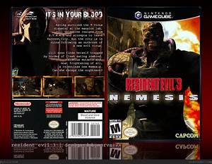 Resident Evil 3 GameCube Box Art Cover By Ervo