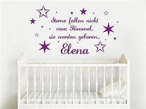 Sterne Vom Himmel : babyspr che und kinderspr che als wandtattoo spr che ~ Lizthompson.info Haus und Dekorationen