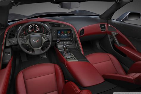 2014 Chevrolet Corvette Stingray Interior 4k Hd Desktop