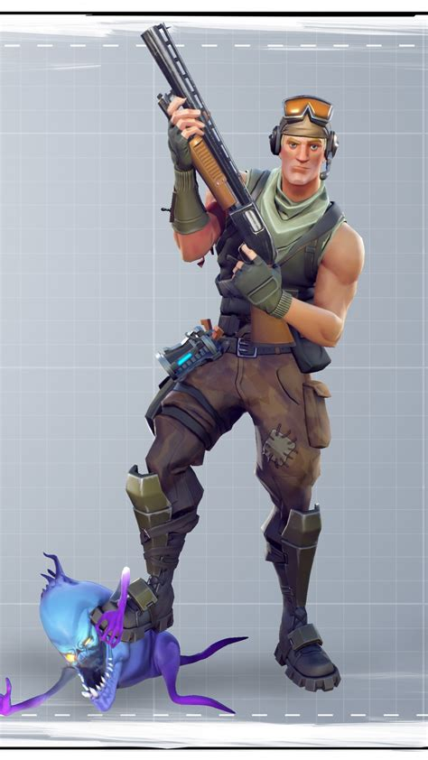 fortnite soldier   wallpapers  iphone