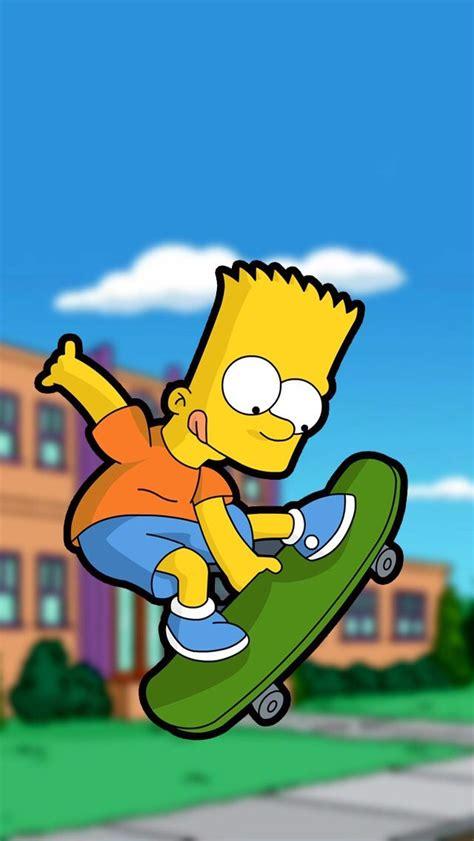 100 Fondo de Bart Simpsons Fondos de Pantalla