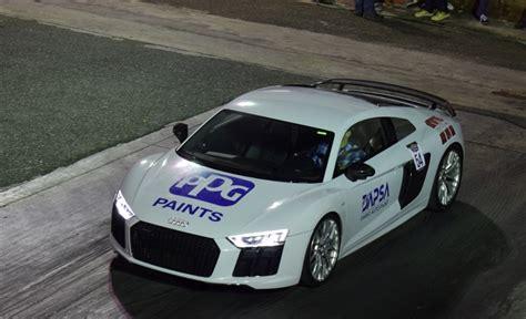 2017 Audi R8 V10 Plus 1/4 Mile Trap Speeds 0-60