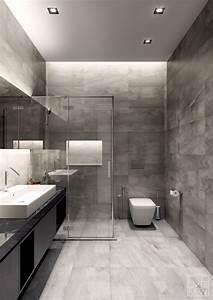 Modern, Gray, Bathroom