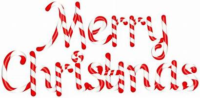 Candy Merry Christmas Cane Clip Text Clipart