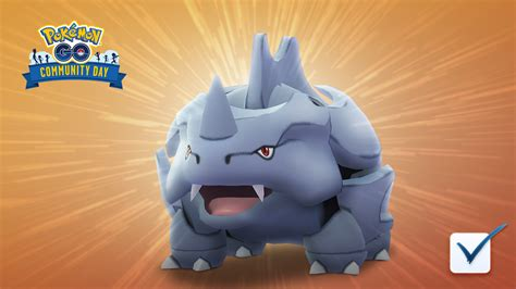 february  community day features rhyhorn pokemon  hub
