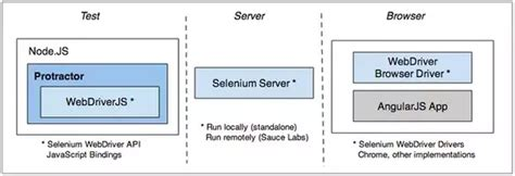selenium webdriver  test angular js