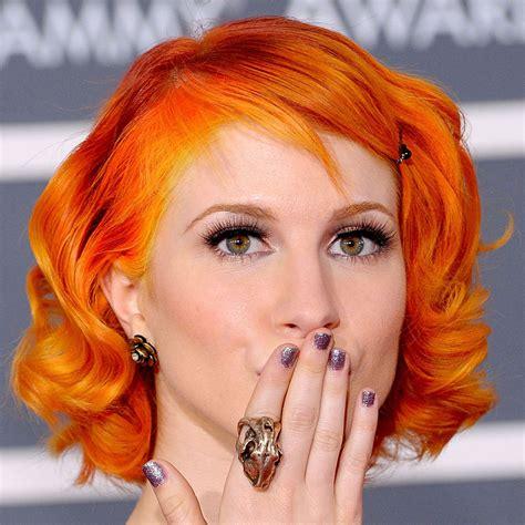Bright Orange Hair Dye