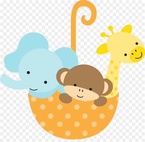 baby clipart baby jungle animals baby shower infant clip