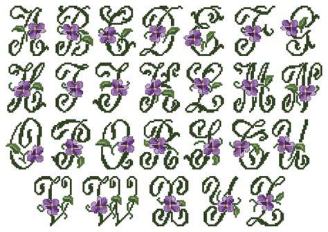 violets xs alphabet small