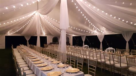 Ceiling Tent by Tent Draping Wedding Tents 201 How To Accessorize Your