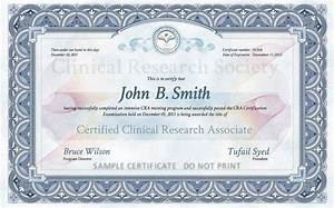 clinical research associate cra certification online With clinical research associate training