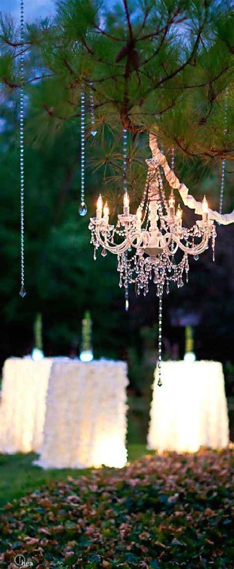 wedding chandeliers add to decor modwedding