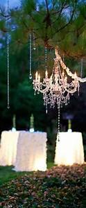 Wedding chandeliers add glamour to decor modwedding