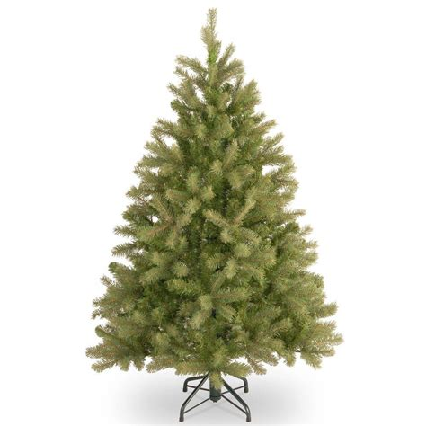 4 or 5 ftrustic christmas trees 4 5 ft unlit feel real downswept douglas fir artificial