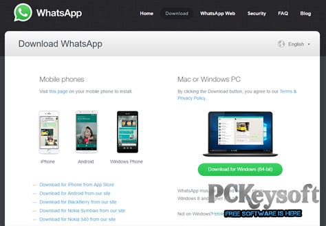 whatsapp for pc free version 2016