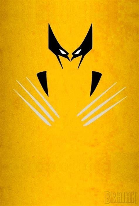 Wolverine And His Claws Surrealism Minimalism Art Vintage